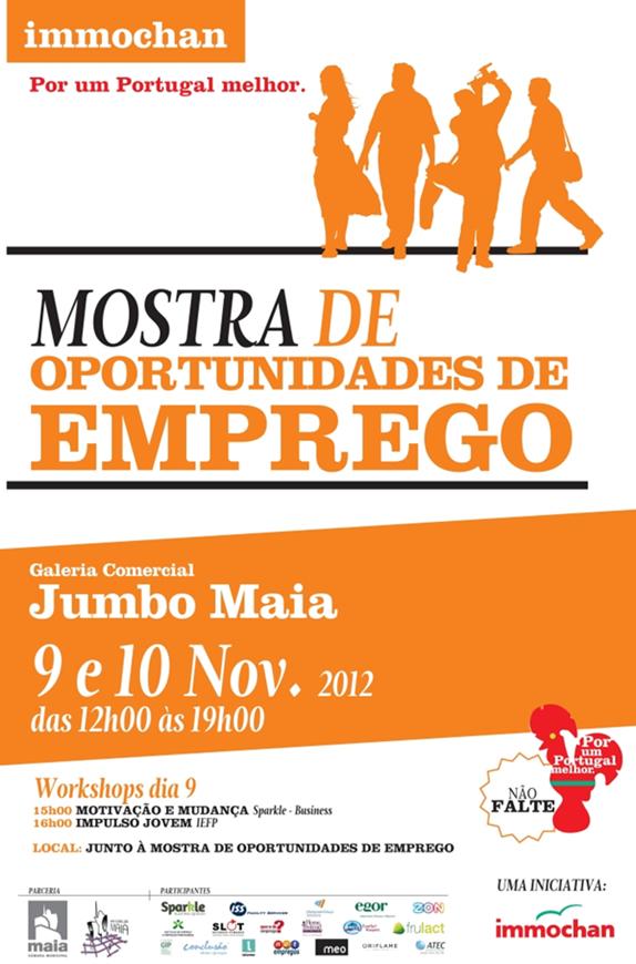 Mostra de Oportunidades de Emprego 2012 – Jumbo da Maia