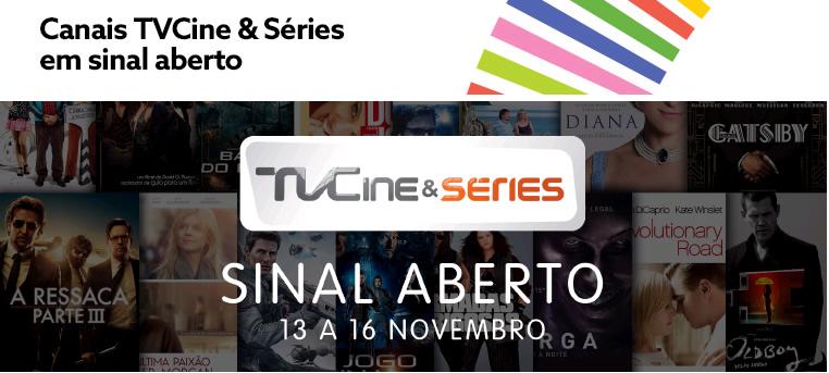 Canais TVCine & Séries da NOS em sinal aberto