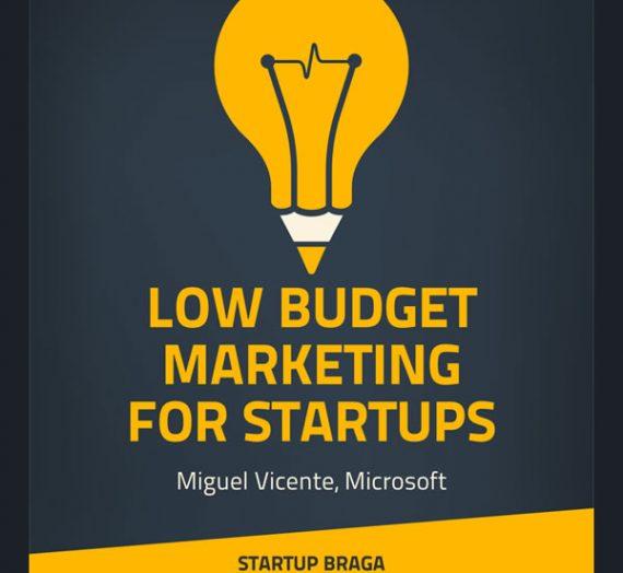 Workshop 'Low Budget Marketing for Startups'