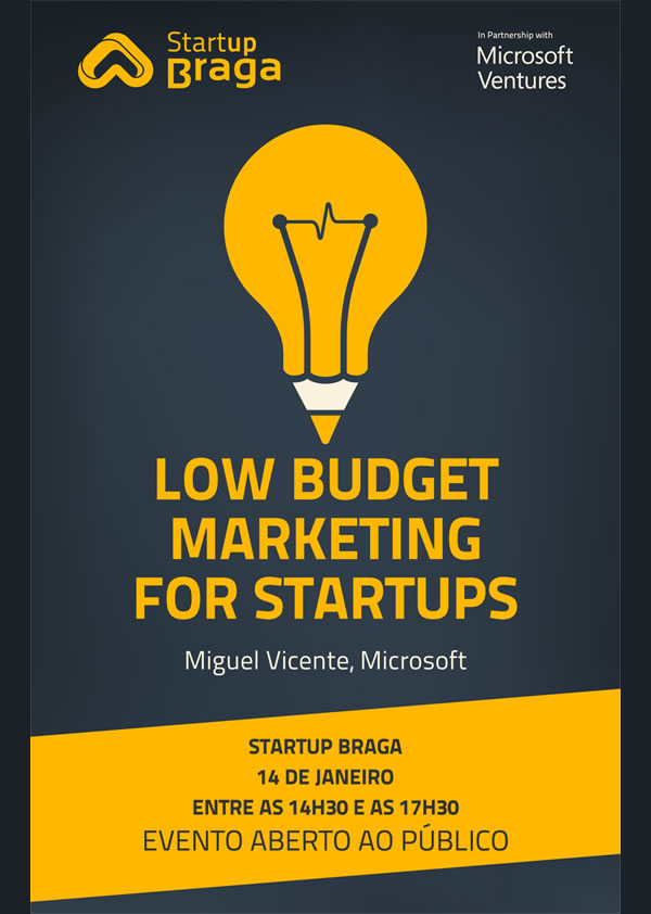 Workshop 'Low Budget Marketing for Startups'