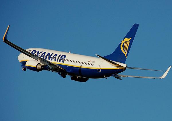Voos baratos Ryanair LOW COST desde 9.99 euros