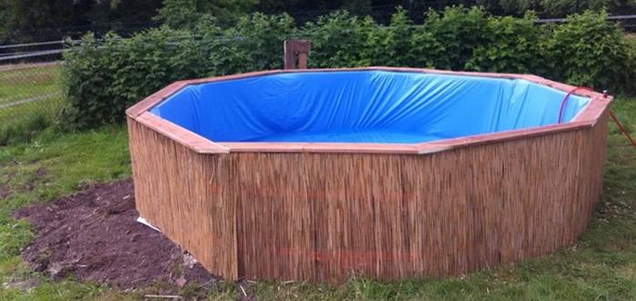 Como construir uma piscina de paletes