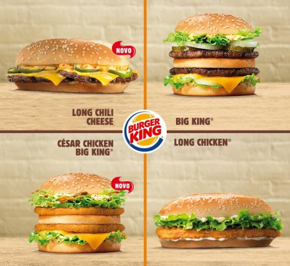 Promoção Burger King: 2 hamburgers por apenas 5 euros