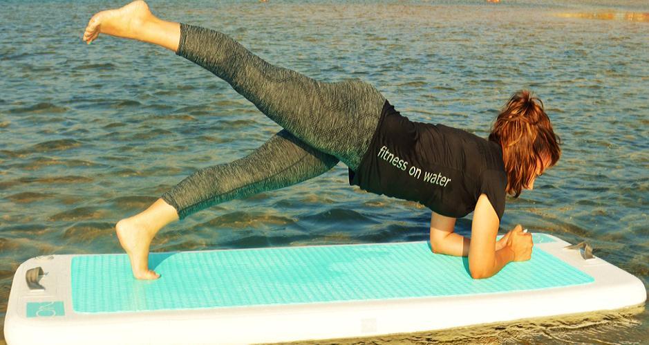 Fitness grátis na água