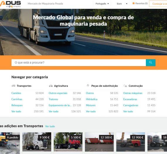 Tradus – Um mercado global para venda e compra de maquinaria pesada